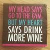 :wine_glass:vs :muscle:. #wine #yoga #fight @flipschitz