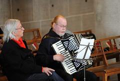 accordion, musician, folk instrument, music, wind instrument,