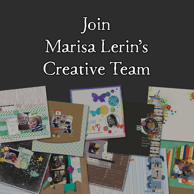 Join Marisa Lerin's Creative Team - April 2015