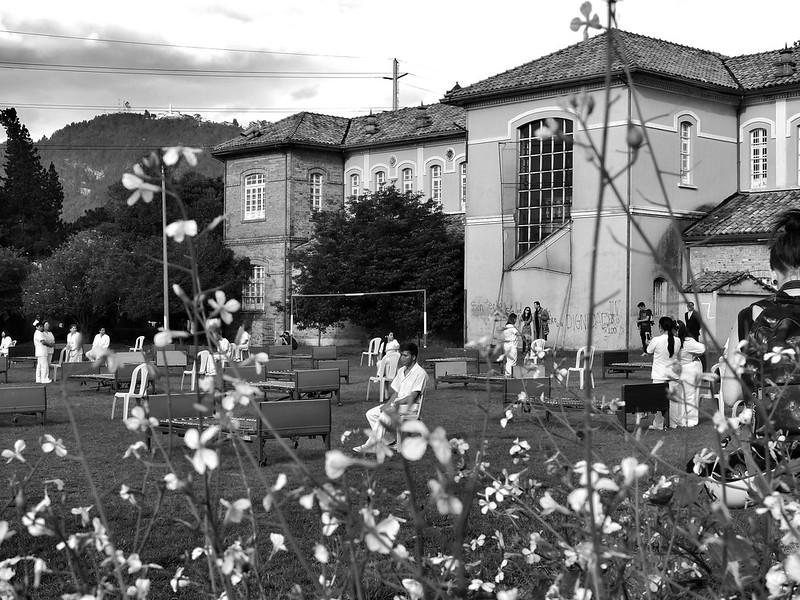 HORTUA IN-HOSPITALARIO.... Performance #CumbreMundialArteCulturayPaz