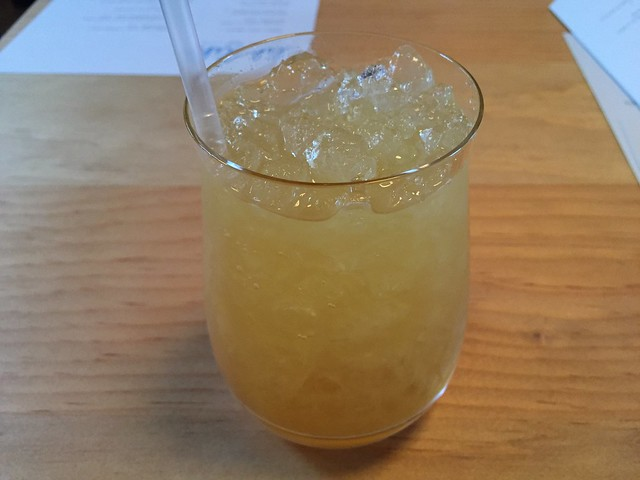 Pineapple Peat cocktail - Liholiho Yacht Club