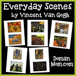 Everyday Scenes by Van Gogh (set 1)