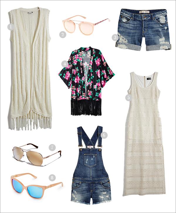 eatsleepwear, GUESS, coachella