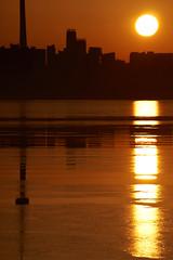 Toronto Sunrise Over the Skyline