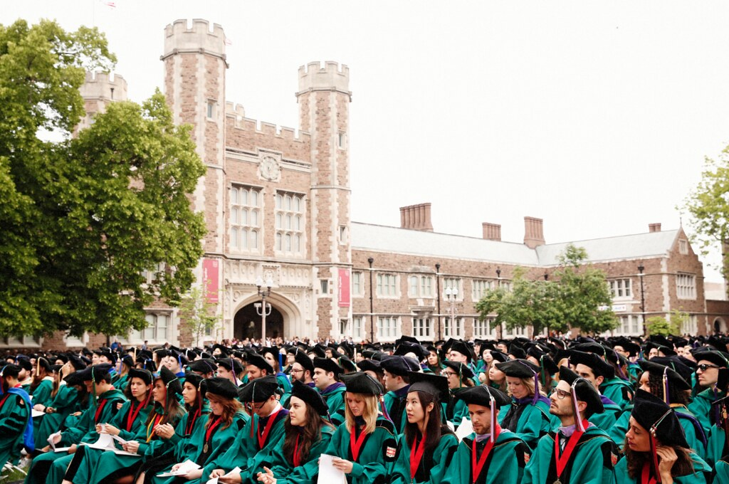 WashU Commencement 2016