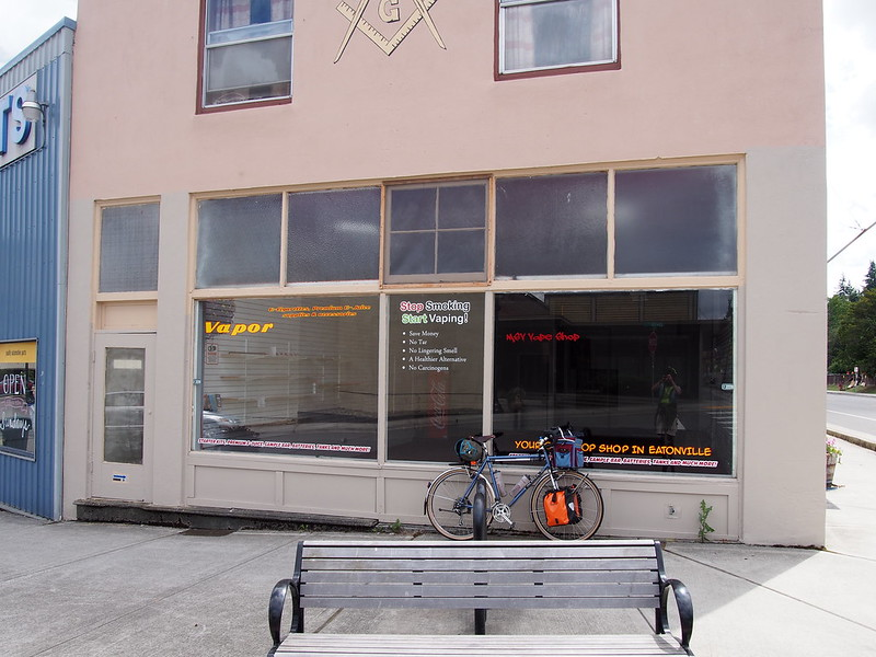 Former Eatonville Outdoor: This was a bike shop the last time I checked a few years back.