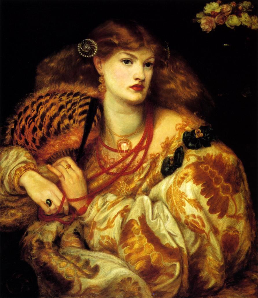 Monna Vanna by Dante Gabriel Rossetti - 1866