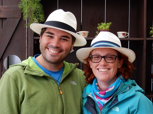 Cuenca: nos chapeaux panama !