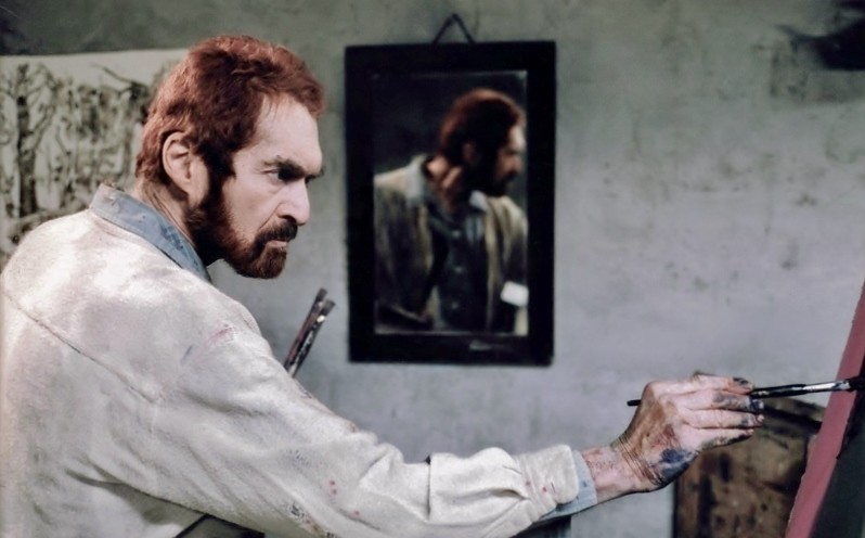 Film production still The Eyes of Van Gogh Barnett