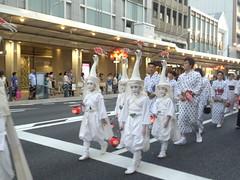 Gion matsuri festival at Kyoto city in Japan, 2016: 祇園祭、京都、2016年