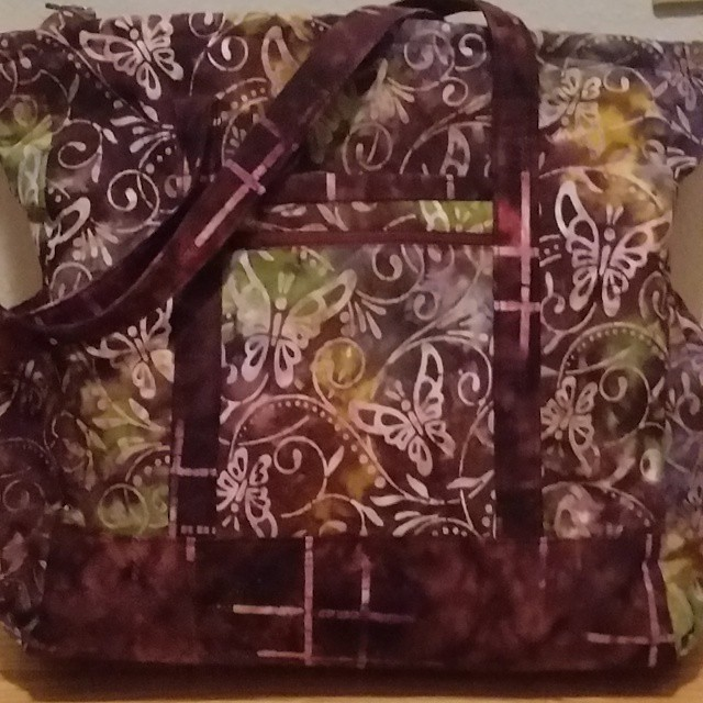 Finished my modified professional tote last week for my cruise carry on. Just 2.5 weeks!