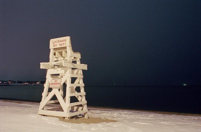 Green light across Long, Nikon F100, Nikkor 28mm f/2.8 AF-D