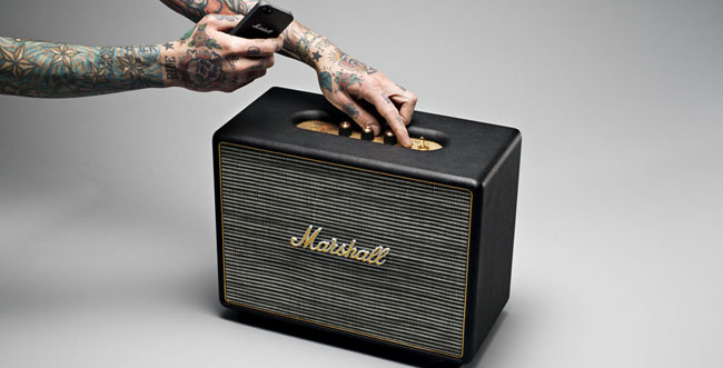 marshall headphones event