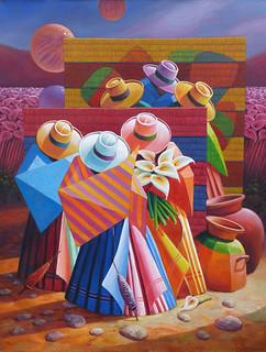 pintura peruana / peruvian painting