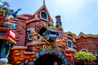 Roger Rabbit at Toon Town