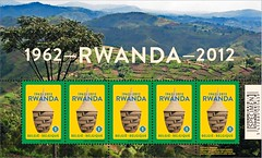 10a Rwanda 1962-2012 feuille