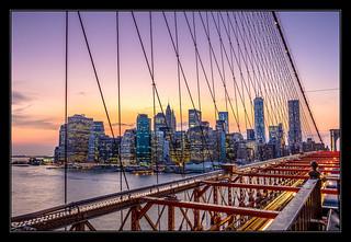 Downtown Manhattan from Brooklyn Bridge