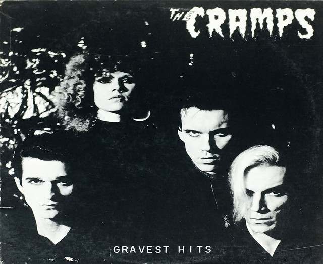 "CRAMPS GRAVEST HITS IRS SP-70501 12"" LP VINYL"