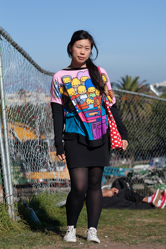 simpsons Dolores Park, Quick Shots, San Francisco, street fashion, street style, women