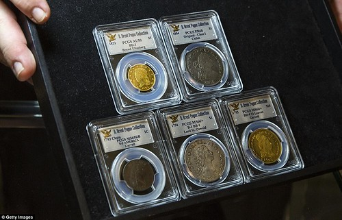 Pogue collection coins