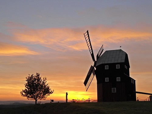 nature windmill clouds germany photography colourful sungoesdown