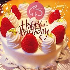 掛川にある洋菓子店「卯屋」さんのケーキ 昨日の甥っ子たちのバースデーパーティでいただきました♪美味しかった〜♡妹夫婦よ、ありがとう!(*^◯^*)  #うさぎや #卯屋 #掛川 #洋菓子 #ケーキ #スイーツ #誕生日 #いちごケーキ #usagiya #kakegawa #sweets #cake #birthday #strawberrycake