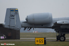 82-0648 DM - A10-0696 - USAF - Fairchild A-10C Thunderbolt II - Lakenheath, Suffolk - 150319 - Steven Gray - IMG_5486