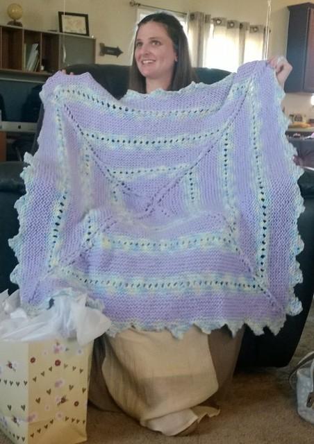 Baby blanket - Steph
