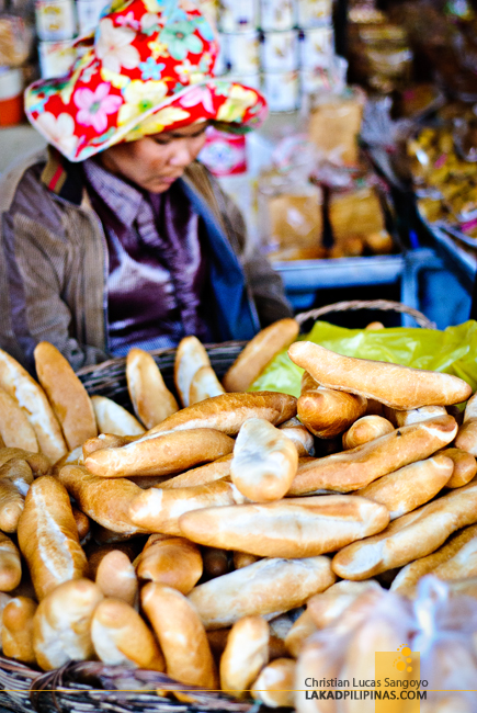 French Bread at Leu Market in Siem Reap