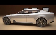 2011 KIA Four-door Sports Sedan Concept