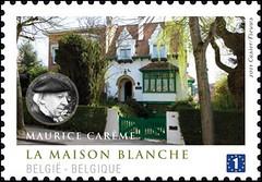 02a Maisons Ecrivains Maurice Careme timbre