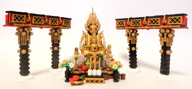Интерьер- Буддийский Храм WIP 1