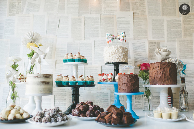 Dessertbord sockerrus