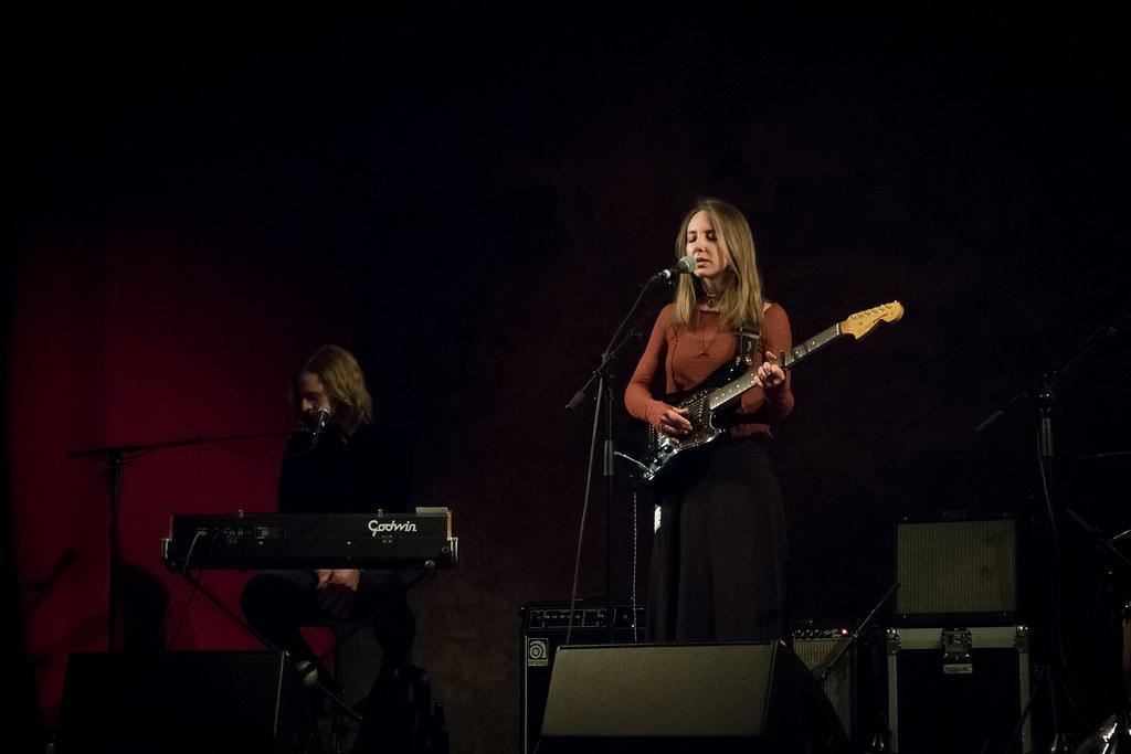 Lyla Foy supporting Saint Saviour at Wilton's Music Hall