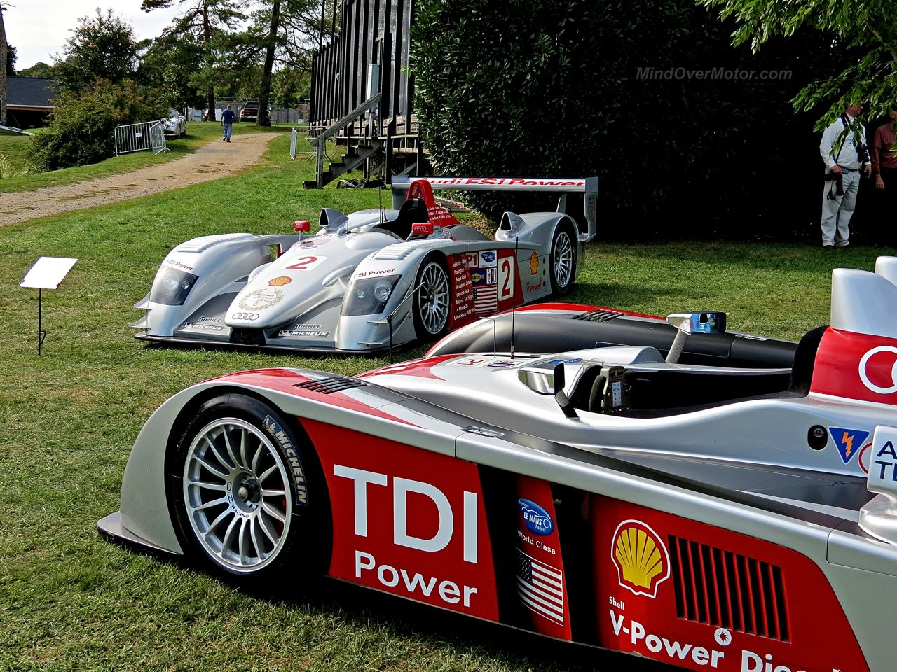 Audi R10 TDI LMP Race Car