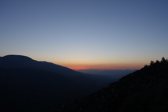 Hydrocarbon sunset, m243