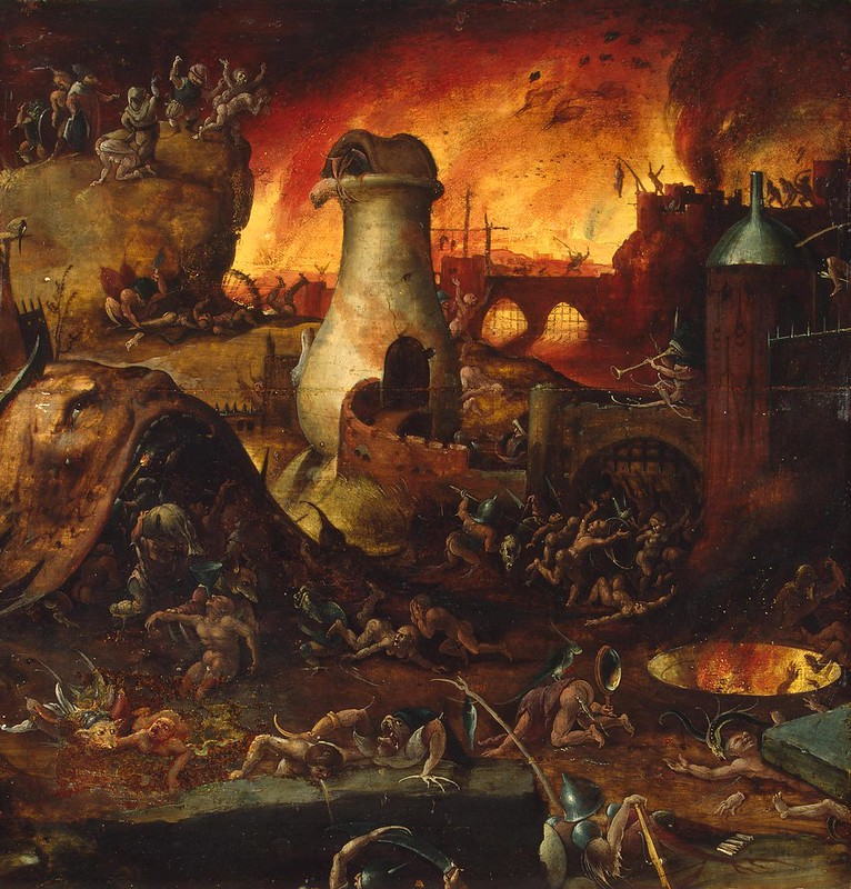Unknown Artist - Hell, First decade of the 16th century (?)