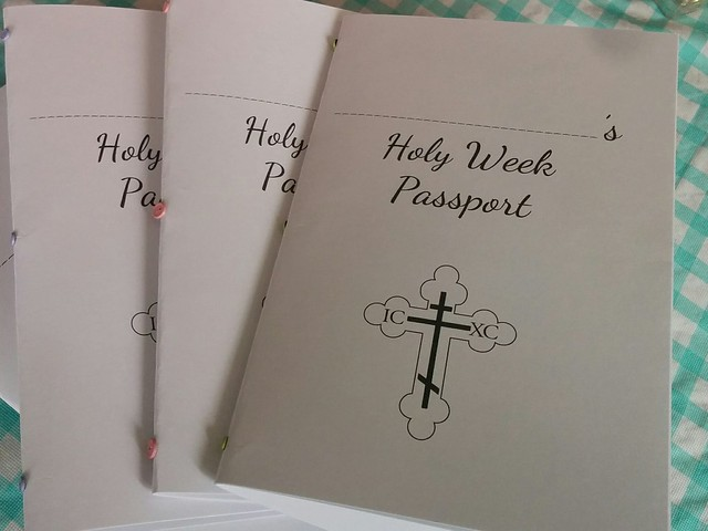 Holy Week Passport