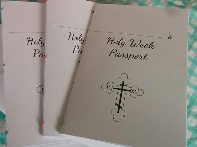 Holy Week Passport