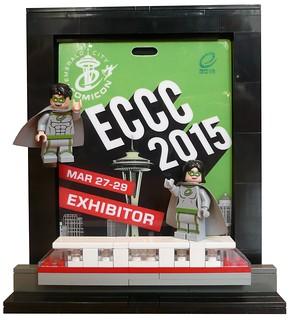 Emerald City Comicon 2015  Collectible LEGO Minifigs