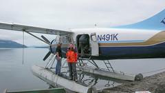 Samolot - przelot z King Salmon do Brooks Lodge