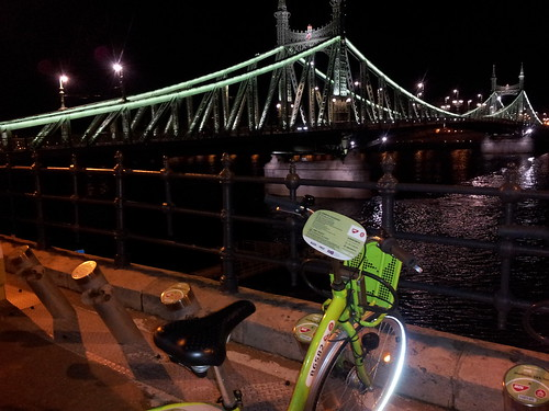 BuBi Bike and Liberty Bridge