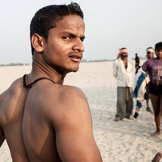 Young men at beach DSC_0904