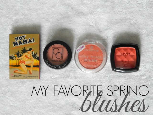 My favorite spring blushes at A Thing of Beauty!