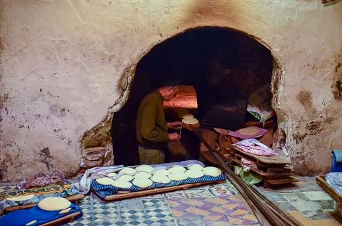 Neighborhood Bread Baker, Marrakech