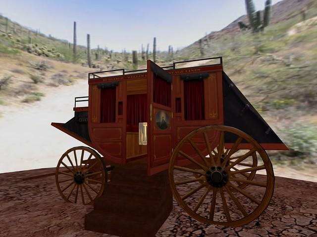 Tombstone - Wells Fargo Stage Coach