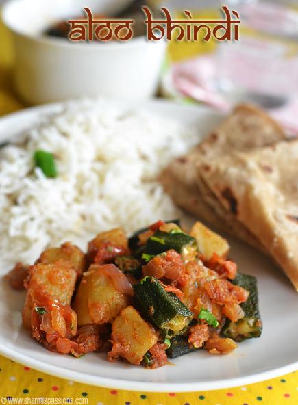 Aloo Bhindi Fry