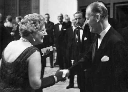 A.P. van der Graaf and Queen Juliana