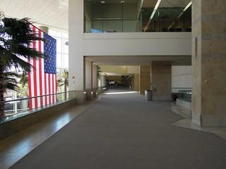 Landside hallway