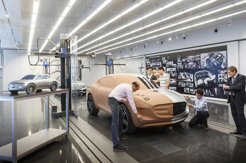 Разработка дизайна Mercedes-Benz G-Code 2014 года